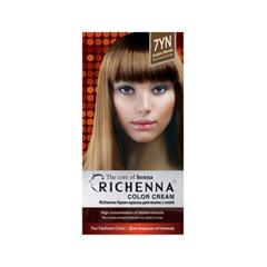 цены Перманентное окрашивание Richenna Color Cream 7YN (Цвет 7YN Golden Blonde variant_hex_name 9B7252)