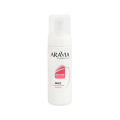 После депиляции Aravia Professional Мусс с экстрактом хлопка Professional Mousse Post-Epil (Объем 160 мл) мусс aravia professional mousse post epil 160 мл