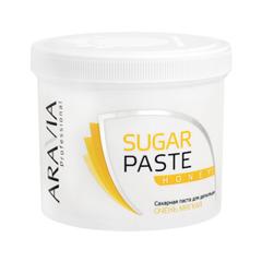 Депиляция Aravia Professional Сахарная паста для шугаринга Sugar Paste Honey Медовая (Объем 750 г) депиляция aravia professional сахарная паста для шугаринга expert мягкая объем 750 г