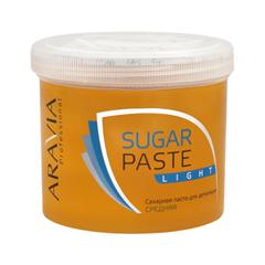 Депиляция Aravia Professional Сахарная паста для шугаринга Sugar Paste Light Легкая (Объем 750 г) депиляция aravia professional сахарная паста для шугаринга expert мягкая объем 750 г