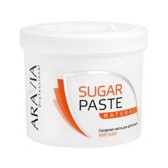 Депиляция Aravia Professional Сахарная паста для шугаринга Sugar Paste Natural Натуральная (Объем 750 г) депиляция aravia professional сахарная паста для шугаринга expert мягкая объем 750 г
