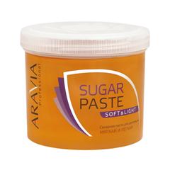 Депиляция Aravia Professional Сахарная паста для шугаринга Sugar Paste Soft & Light Мягкая и легкая (Объем 750 г) депиляция aravia professional сахарная паста для шугаринга expert мягкая объем 750 г