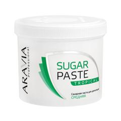 Депиляция Aravia Professional Сахарная паста для шугаринга Sugar Paste Tropical Тропическая (Объем 750 г) депиляция aravia professional сахарная паста для шугаринга expert мягкая объем 750 г
