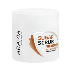 После депиляции Aravia Professional Сахарный скраб для тела Sugar Scrub Post-Epil (Объем 300 мл) мусс aravia professional mousse post epil 160 мл