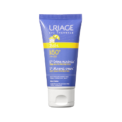 Крем Uriage Baby 1st Mineral Cream SPF 50+ (Объем 50 мл) крем uriage isoliss cream