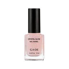 Лак для ногтей Ga-De Crystal Glow Nail Enamel 299 (Цвет 299 Crystal Dove variant_hex_name E4BEBB) лаки для ногтей ga de лак для ногтей crystal glow nail enamel тон 410