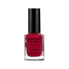 Лак для ногтей Ga-De Crystal Glow Nail Enamel 329 (Цвет  Beverly Hills variant_hex_name 9B0B2C)