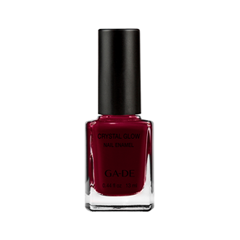 Лак для ногтей Ga-De Crystal Glow Nail Enamel 336 (Цвет 336 Hot Passion variant_hex_name 5F0014) nail look лак для ногтей passion of shakespeare gellook 266 hamlet 8 5 мл