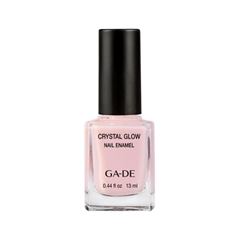 Лак для ногтей Ga-De Crystal Glow Nail Enamel 391 (Цвет 391 Rose Breath variant_hex_name E7C0C5)