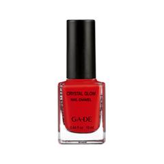 Лак для ногтей Ga-De Crystal Glow Nail Enamel 423 (Цвет  Ravishing Red variant_hex_name CD1A1E)