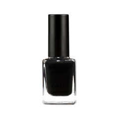 Лак для ногтей Ga-De Crystal Glow Nail Enamel 486 (Цвет 486 Black Swan variant_hex_name 0C0A0B) лак для ногтей nouba nail polish mini 486