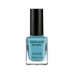 Лак для ногтей Ga-De Crystal Glow Nail Enamel 504 (Цвет 504 Egg Blue variant_hex_name 5DA6B7)