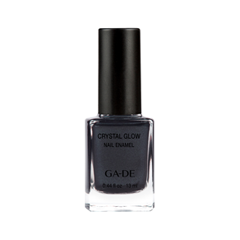 Лак для ногтей Ga-De Crystal Glow Nail Enamel 518 (Цвет  Nightfall variant_hex_name 3A3A45)