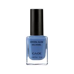 Лак для ногтей Ga-De Crystal Glow Nail Enamel 521 (Цвет 521 Arctic Blue variant_hex_name 4E72A7)