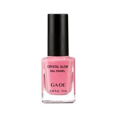 Лак для ногтей Ga-De Crystal Glow Nail Enamel 522 (Цвет 522 Flamingo Pink variant_hex_name F18BA0)