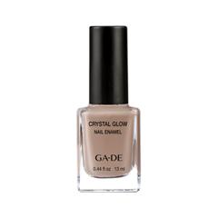 Лак для ногтей Ga-De Crystal Glow Nail Enamel 523 (Цвет 523 Nude In The City variant_hex_name AA8D7D)