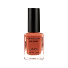 Лак для ногтей Ga-De Crystal Glow Nail Enamel 525 (Цвет  Sweet Cinnamon variant_hex_name AF4430)