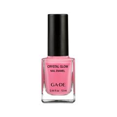 Лак для ногтей Ga-De Crystal Glow Nail Enamel 533 (Цвет 533 Neon Pink variant_hex_name F07693) лак для ногтей ga de crystal glow nail enamel 510 цвет 510 poppy red variant hex name c00230