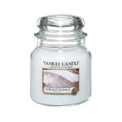 Ароматическая свеча Yankee Candle Angel Wings Medium Jar Candle (Объем 411 г)
