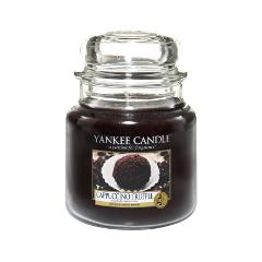 Ароматическая свеча Yankee Candle Capuccino Truffle Medium Jar Candle (Объем 411 г)