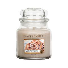 Ароматическая свеча Yankee Candle Pain aux Raisin Medium Jar Candle (Объем 411 г)