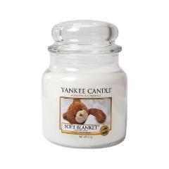 Ароматическая свеча Yankee Candle Soft Blanket Medium Jar Candle (Объем 411 г) candle magic soft wicking 6 yards