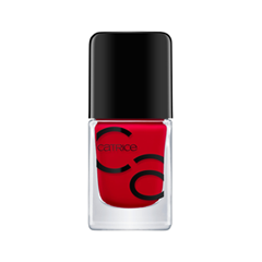 Лак для ногтей Catrice ICONails Gel Lacquer 05 (Цвет 05 Its All About That Red variant_hex_name B70016)