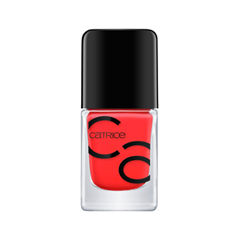 Лак для ногтей Catrice ICONails Gel Lacquer 06 (Цвет 06 Nails on Fire variant_hex_name FF3235)
