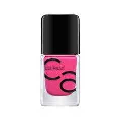 Лак для ногтей Catrice ICONails Gel Lacquer 32 (Цвет 32 Get Your Pink On variant_hex_name ED437E)