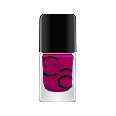 Лак для ногтей Catrice ICONails Gel Lacquer 34 (Цвет 34 For The Berry First Time! variant_hex_name 970E6A)