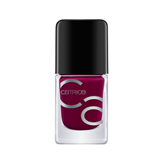 Лак для ногтей Catrice ICONails Gel Lacquer 35 (Цвет 35 Its A Berryful Day variant_hex_name 68002E)
