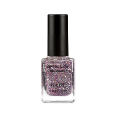 Лаки для ногтей с эффектами Ga-De Crystal Glitter Collection 828 (Цвет 828 Crystal Berry variant_hex_name A2929F)