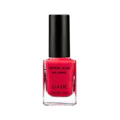 Лак для ногтей Ga-De Crystal Glow Nail Enamel 475 (Цвет 475 Candy Apple variant_hex_name DB0D3E)