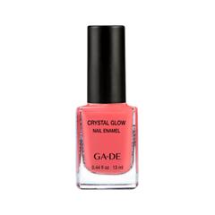 Лак для ногтей Ga-De Crystal Glow Nail Enamel 476 (Цвет 476 Coral Flame variant_hex_name EF585F) лаки для ногтей ga de лак для ногтей crystal glow nail enamel тон 410