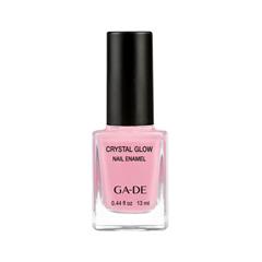 Лак для ногтей Ga-De Crystal Glow Nail Enamel Summer 2017 Collection 537 (Цвет 537 Pink Party variant_hex_name ECA5B8) лаки для ногтей ga de лак для ногтей crystal glow nail enamel тон 410