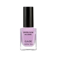Лак для ногтей Ga-De Crystal Glow Nail Enamel Summer 2017 Collection 539 (Цвет 539 Lilac Love variant_hex_name CEA5CB) лаки для ногтей ga de лак для ногтей crystal glow nail enamel тон 410
