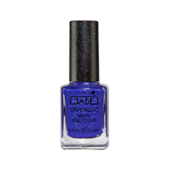 Crystallic Matte Nail Color Collection 55 (Цвет 55 Blue Sugar variant_hex_name 353499)