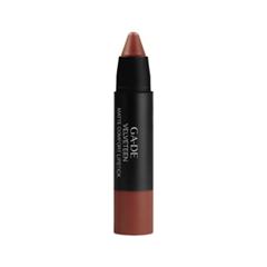 Помада Ga-De Velveteen Matte Comfort Lipstick 707 (Цвет 707 Suede Brown variant_hex_name 82382D) velveteen rabbit