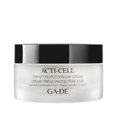 Крем Ga-De Acti-Cell Triple Protection Day Cream For Normal To Combination Skin (Объем 50 мл) крем aqua mineral optima hydrating day cream for normal to dry skin