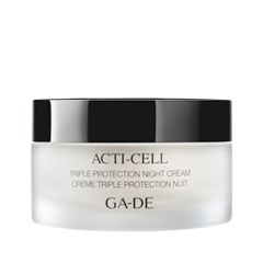 Крем Ga-De Acti-Сell Triple Protection Nignt Cream (Объем 50 мл) крем ga de gold premium firming day cream объем 50 мл