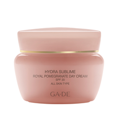 Крем Ga-De Hydra Sublime Royal Pomegranate Day Cream SPF 20 (Объем 50 мл) 100% purity pomegranate bark extract powder 20%