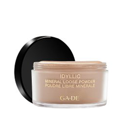 Рассыпчатая пудра Ga-De Idyllic Mineral Loose Powder 100 (Цвет 100 Nude variant_hex_name CDBDAD)