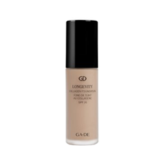 цена на Тональная основа Ga-De Longevity Collagen Foundation SPF 20 500 (Цвет 500 Ivory Beige variant_hex_name C8AD98)