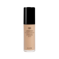 цена на Тональная основа Ga-De Longevity Collagen Foundation SPF 20 501 (Цвет 501 Soft Beige variant_hex_name DDBA9E)