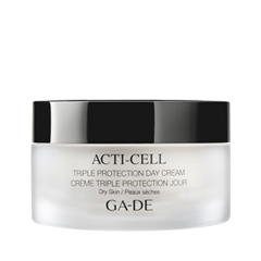 Крем Ga-De Acti-Cell Triple Protection Day Cream For Dry Skin (Объем 50 мл) крем aqua mineral optima hydrating day cream for normal to dry skin