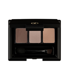 Для бровей Ga-De Basics Brow Powder Palette тени для бровей colorescience mineral brow palette