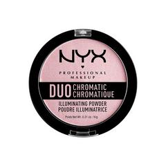 Хайлайтер NYX Professional Makeup Duo Chromatic Illuminating Powder 02 (Цвет DCIP02 Lavender Steel variant_hex_name D5BCC2) high purity iron powder metallic iron powder superfine iron powder nano iron powder alloy powder