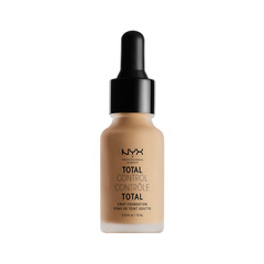 Тональная основа NYX Professional Makeup Total Control Drop Foundation 10 (Цвет TCDF10 Buff variant_hex_name DBBA97) nyx professional makeup стойкая тональная основа total control drop foundation deep sable