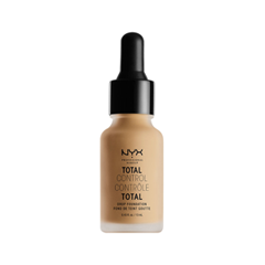 Тональная основа NYX Professional Makeup Total Control Drop Foundation 11 (Цвет TCDF11 Beige variant_hex_name CAA173) nyx professional makeup матирующая тональная основа stay matte not flat liquid foundation light beige 015