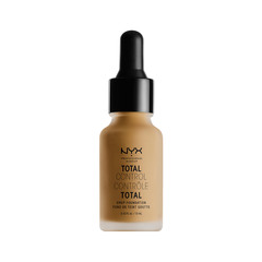 Тональная основа NYX Professional Makeup Total Control Drop Foundation 15 (Цвет TCDF15 Caramel variant_hex_name A67942) nyx professional makeup стойкая тональная основа total control drop foundation deep sable
